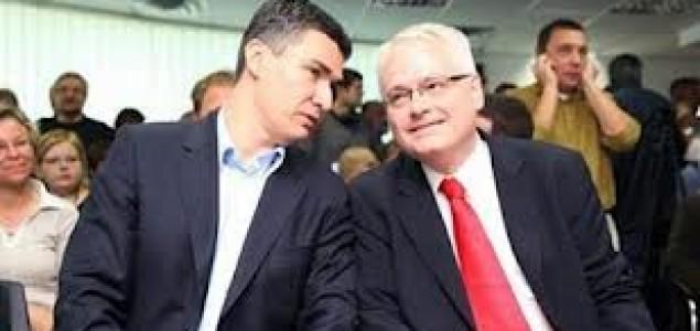 Josipovićev i Milanovićev rat drvenim puščicama