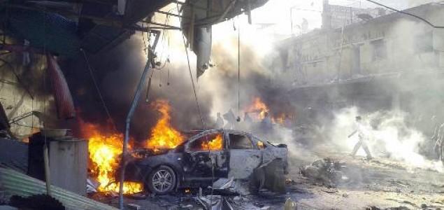 Deseci mrtvih u samoubilačkom napadu u Siriji