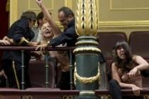 Španija: Aktivistice Femena polugole upale u državni parlament