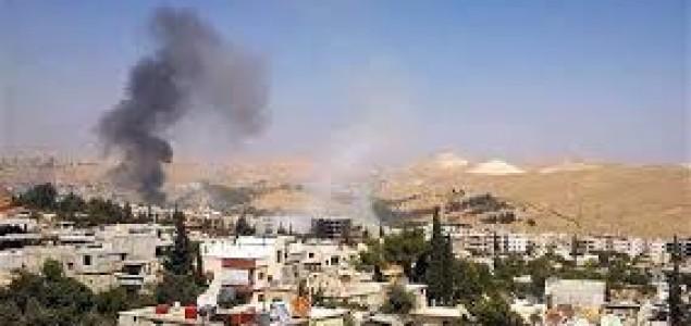 Vojni avioni bombardovali predgrađa Damaska, diljem Sirije ubijeno 86 osoba