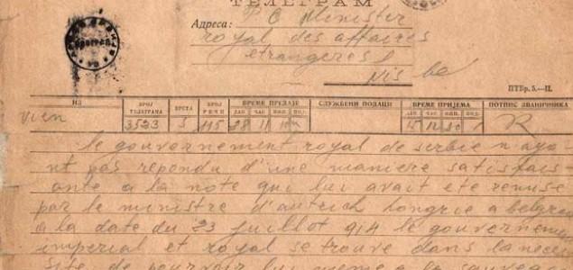 Zbog ovog telegrama je počeo Prvi svjetski rat!