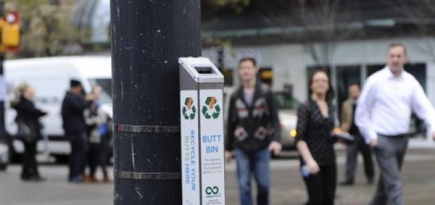 Postavljeni prvi svjetski aparati za recikliranje opušaka