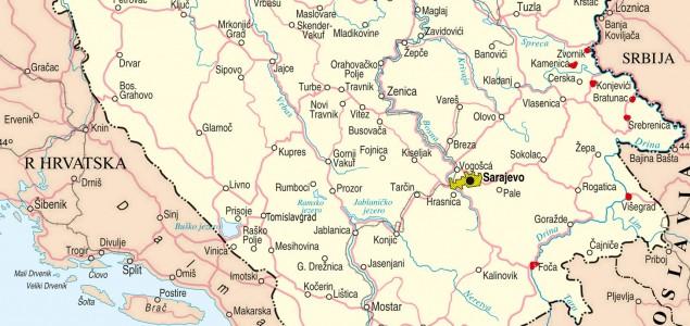 bih mapa Mapa napada na povratnike u BiH | Tacno.net bih mapa
