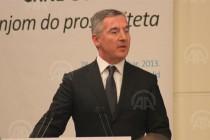 Đukanović: Imamo sve pretpostavke da Crna Gora bude jedna od najbrže finansijski rastućih država regiona