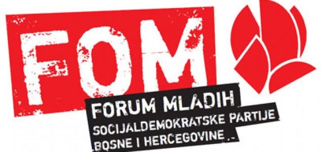 Forum mladih SDP poziva sve političke podmlatke na zajedničku radnu akciju!