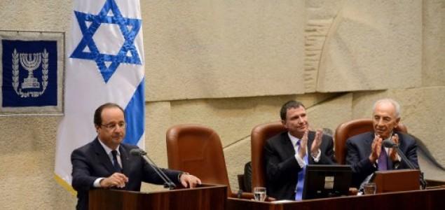 Hollande: Francuska podržava formiranje država Izrael i Palestina
