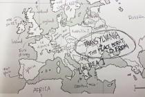 Ovako izgleda kad Amerikanci pozicioniraju evropske zemlje na karti