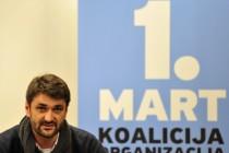 Nastavak policijske represije nad aktivistima Prvog marta