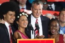 Novi gradonačelnik: De Blasio dobio njujorški pakleni posao