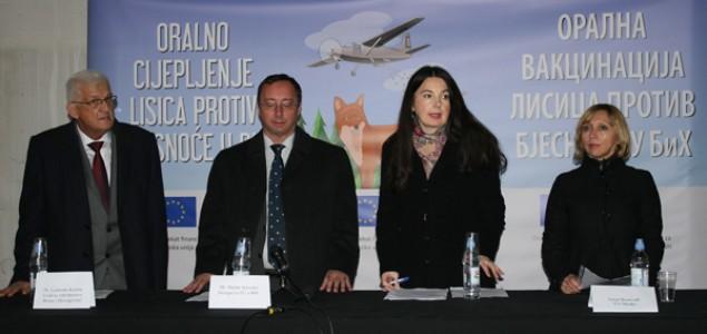 Početak jesenje kampanje oralne vakcinacije lisica u BiH