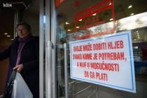 """""""Hljeb za kasnije"""" i u Sarajevu: Akcija za one kojima je i marka bogatstvo"""