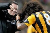 Nakon pogotka: Igrač Hulla se ekspresno ošišao na utakmici
