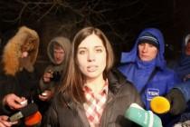 Tolokonjikova: Putinova prazna gesta neće zaslijepiti svijet