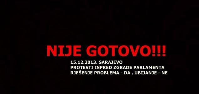Nije gotovo – protesti u Sarajevu protiv izmjena i dopuna Zakona o zaštiti i dobrobiti životinja BiH