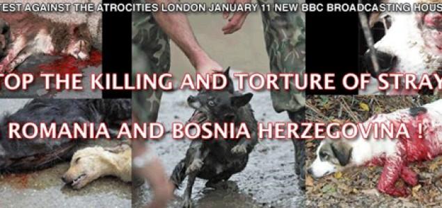 London: 11. januara protesti protiv zlostavljanja životinja ispred zgrade BBC-a