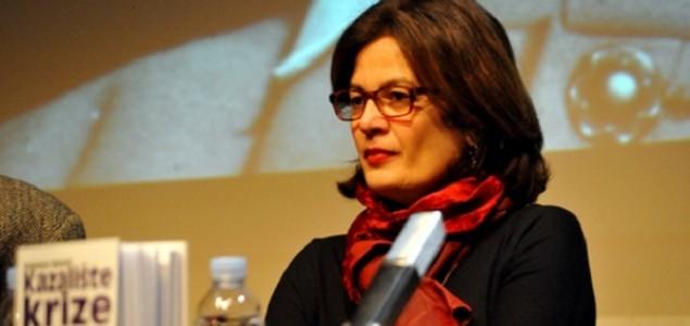 Pred punom dvoranom ADU-a u Zagrebu predstavljena nova knjiga 'Kazalište krize' autorice prof. Snježane Banović