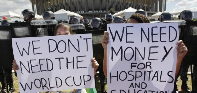 U Sao Paolu održani protesti protiv Mundijala