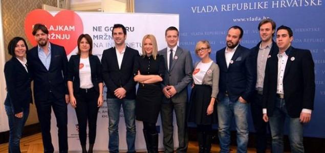 Javne osobe iz Hrvatske poručile: Dislajkam mržnju!