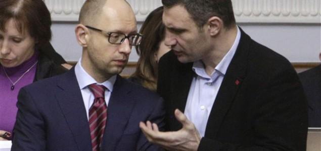 Jacenjuk izabran za premijera Ukrajine