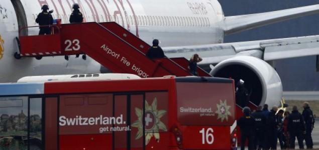 Drama u Švicarskoj: Uhićen otmičar zrakoplova