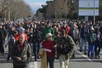 Podgorica: Demonstrantima koji su sjedili na ulici 48-satni pritvor