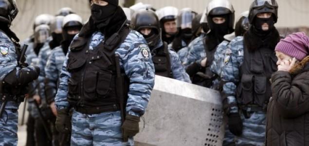 Raspuštena omražena ukrajinska policijska jedinica Berkut