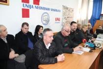 Sindikati HN kantona podržali građanski bunt, ali osuđuju nasilje
