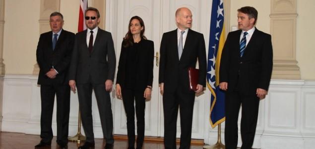 Jolie i Hague stigli u Predsjedništvo BiH