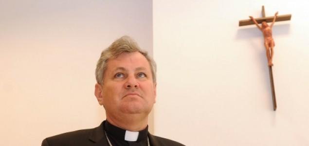 Biskup Trkeljalo i msgr. Laprdalo