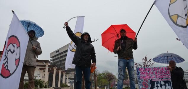 Heroj mostarskih protesta Muaherm Hindić Mušica pušten iz pritvora