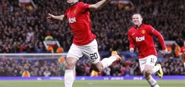 Liga prvaka: Robin van Persie odveo United u četvrtfinale, Borussia izgubila, ali ide dalje