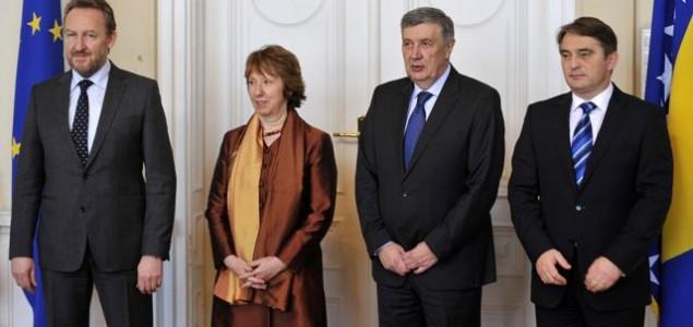 Ashton u Sarajevu: Mogućnost novog pristupa EU prema BiH