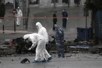 Eksplozija ispred Banke Grčke u Atini