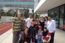 Ibišević i Džiho u humanoj misiji: Posjetili djecu koja boluju od leukemije