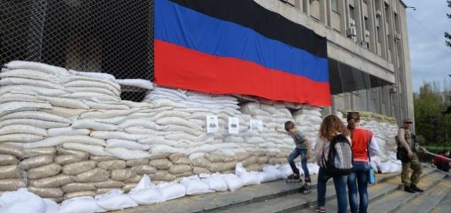 Zauzeta zgrada Državne bezbednosti u Kramatorsku
