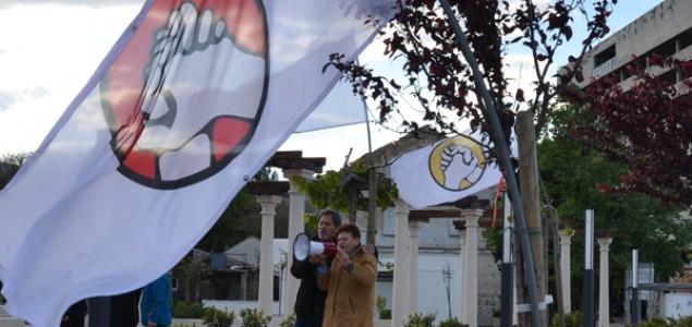 Božica Jelušić na protestima u Mostaru: Ne smijemo biti živomrtvi, čovjek je veći od države