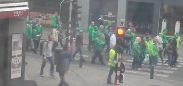 Veliki protesti u srcu EU: U sukobu sa policijom ozlijeđeno minimalno 27 osoba