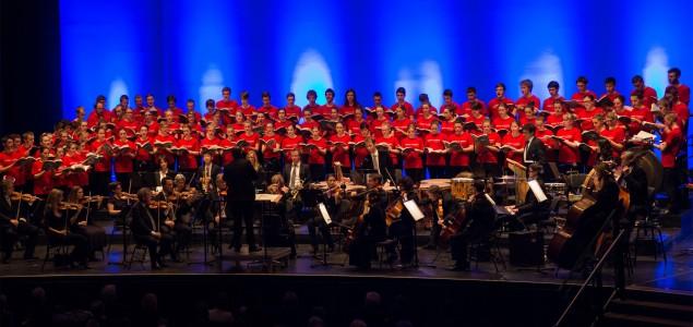 Koncerti Interkulturalnog zbora mladih Visoko, Kamernog zbora mladih iz Koblenza i orkestra BellArte iz Sarajeva