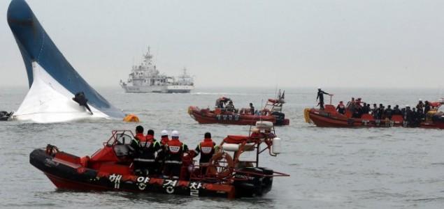 Stotinu nestalih u nesreći u Južnoj Koreji