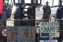 Specijalci se sukobili s radnicima i zauzeli brodogradilište na Ugljanu
