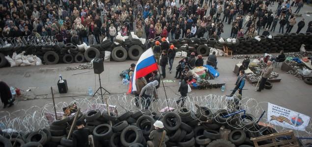 Ukrajina: Desetine ljudi napustile zgradu službe bezbjednosti u Luhansku