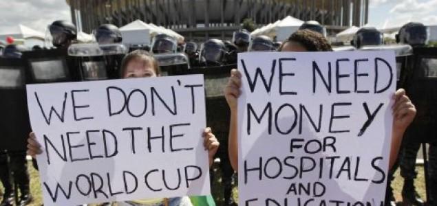 Brazil: Demonstracije protiv Svjetskog prvenstva u fudbalu