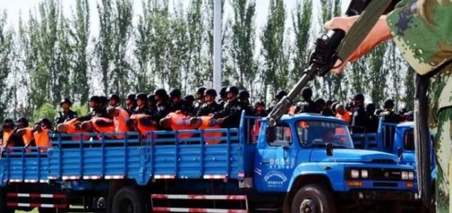 Na masovnom suđenju u Kini 55 kazni, od čega tri smrtne