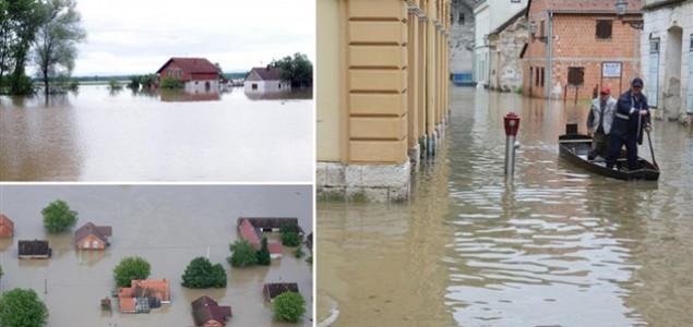 Prisilna evakuacija, zabranjen ulazak na poplavljena područja!