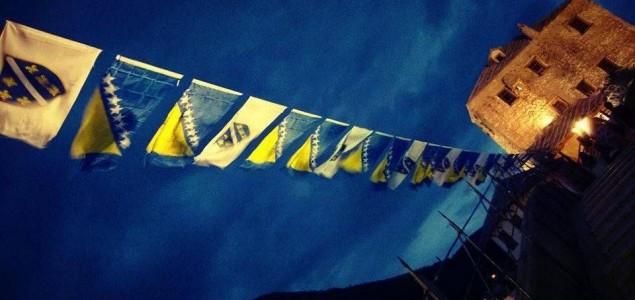 Fadilj Vokri i zastava sa Zmajevima