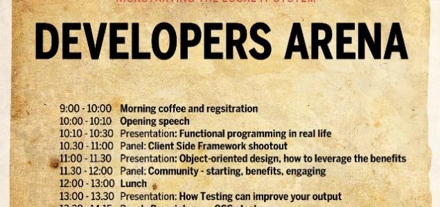 #DevelopersArena, velika programerska konferencija u julu u HUB387