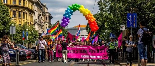 Povorka ponosa LGBTIQ osoba i obitelji Zagreb Pride 2014