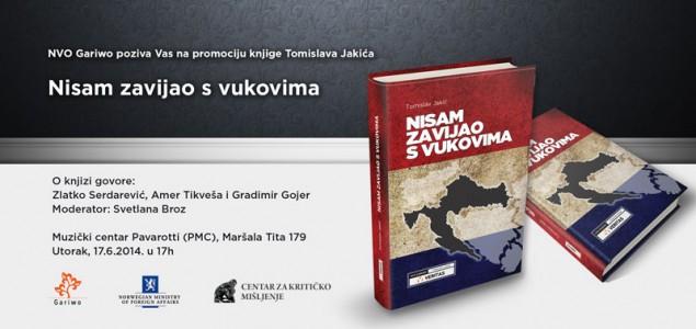 """Promocija knjige Tomislava Jakića: """"Nisam zavijao s vukovima"""""""