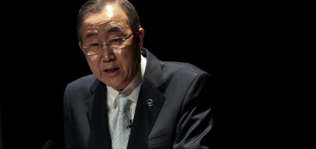 Ban Ki-mun kritikovao balkanske zemlje zbog izbeglica