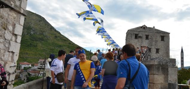 Mostar u  navijačkom transu: Nitko ne sumnja u pobjedu Zmajeva